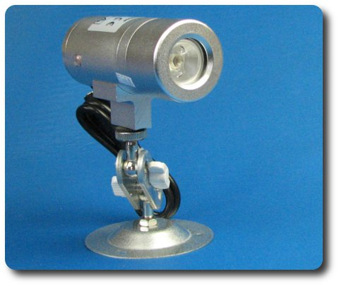 IR Scheinwerfer 20m semidiskret dot matrix LED